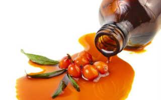 Облепиховое масло от храпа — способы применения и особенности