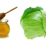 Напиток из меда и капустного сока