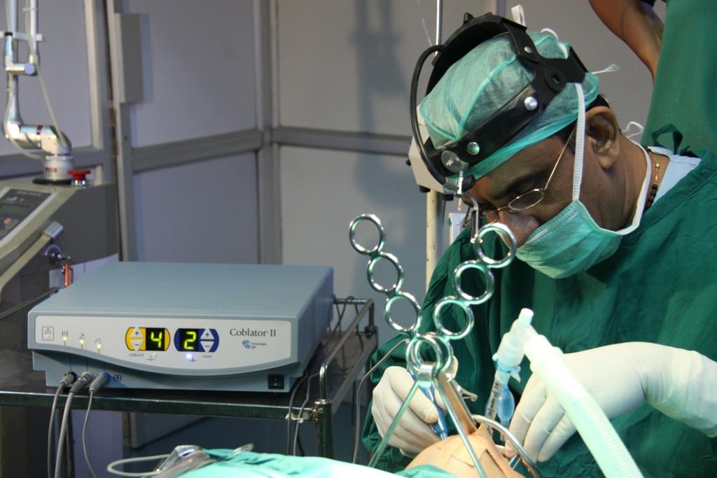 Оперативное лечение храпа