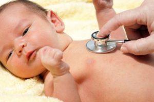 Малыш сам способен следить за вдохами и выдохами
