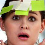 Ухудшение памяти и внимания